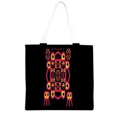 Alphabet Shirt Grocery Light Tote Bag