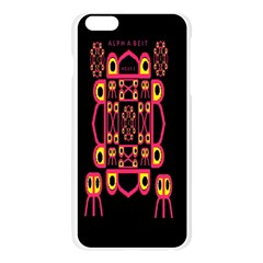 Alphabet Shirt Apple Seamless iPhone 6 Plus/6S Plus Case (Transparent)