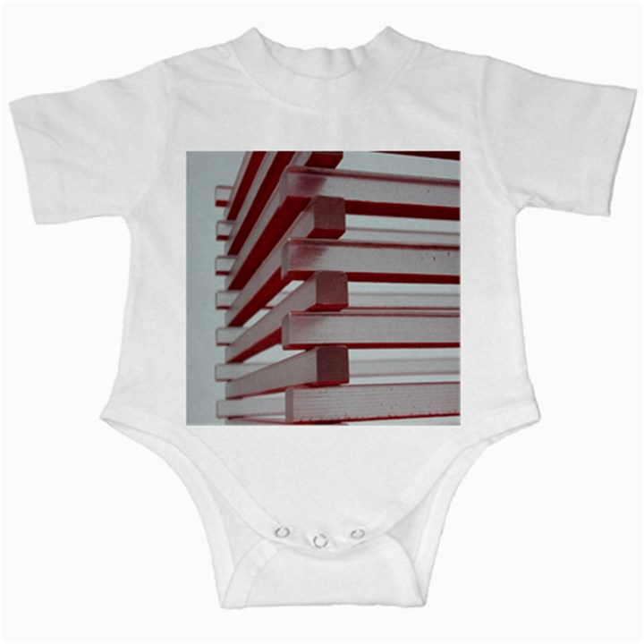 Red Sunglasses Art Abstract  Infant Creepers