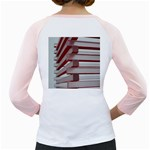 Red Sunglasses Art Abstract  Girly Raglans Back
