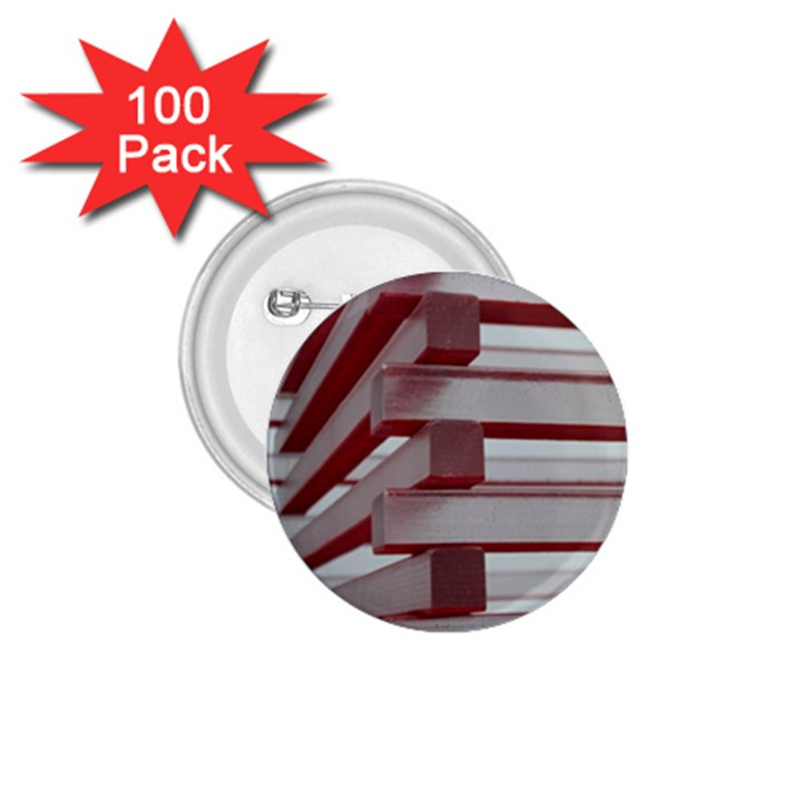Red Sunglasses Art Abstract  1.75  Buttons (100 pack)