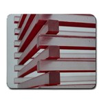 Red Sunglasses Art Abstract  Large Mousepads Front