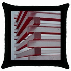 Red Sunglasses Art Abstract  Throw Pillow Case (Black)