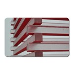 Red Sunglasses Art Abstract  Magnet (Rectangular) Front
