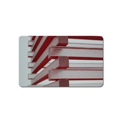 Red Sunglasses Art Abstract  Magnet (Name Card)
