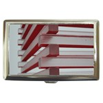 Red Sunglasses Art Abstract  Cigarette Money Cases Front