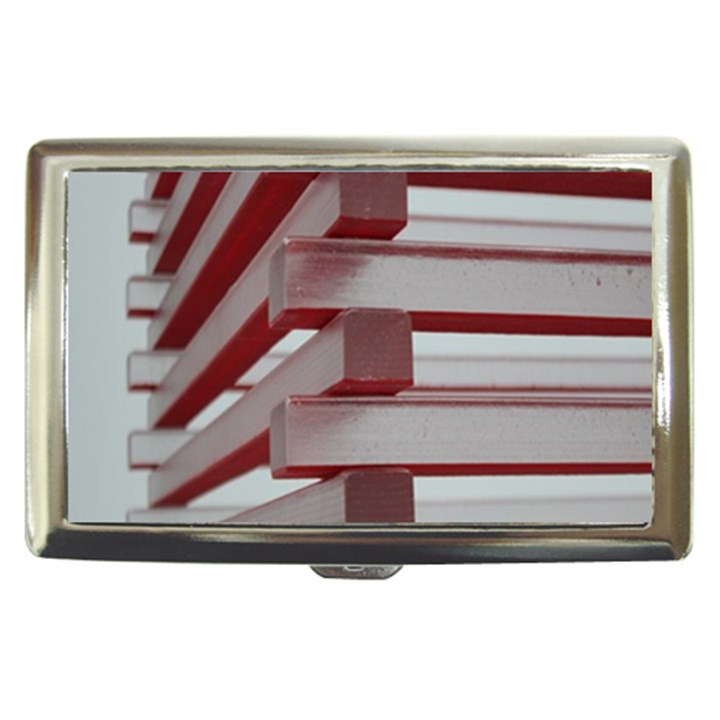 Red Sunglasses Art Abstract  Cigarette Money Cases