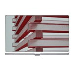 Red Sunglasses Art Abstract  Business Card Holders Front