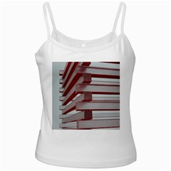 Red Sunglasses Art Abstract  Ladies Camisoles