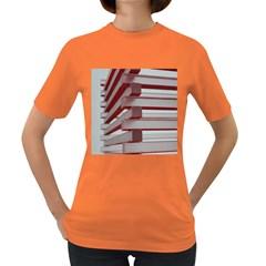 Red Sunglasses Art Abstract  Women s Dark T-Shirt