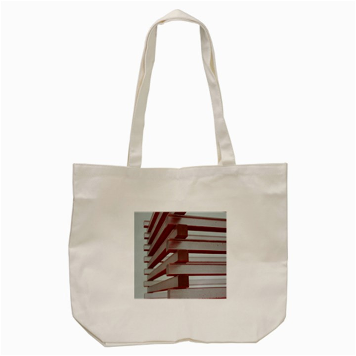 Red Sunglasses Art Abstract  Tote Bag (Cream)