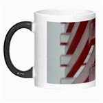Red Sunglasses Art Abstract  Morph Mugs Left