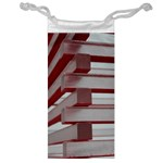 Red Sunglasses Art Abstract  Jewelry Bags Front