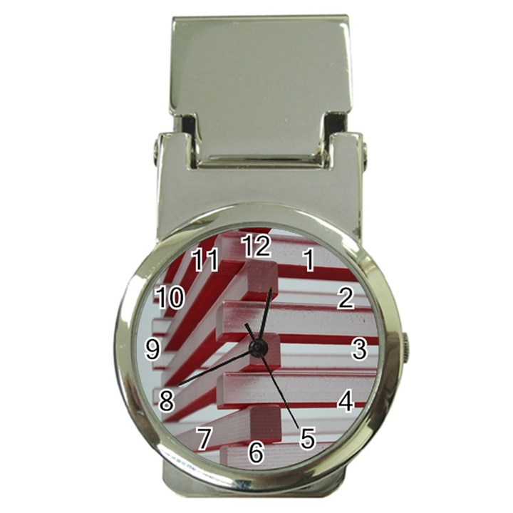 Red Sunglasses Art Abstract  Money Clip Watches