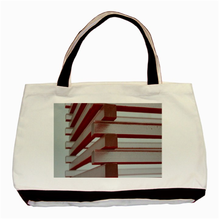 Red Sunglasses Art Abstract  Basic Tote Bag