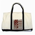Red Sunglasses Art Abstract  Two Tone Tote Bag Front