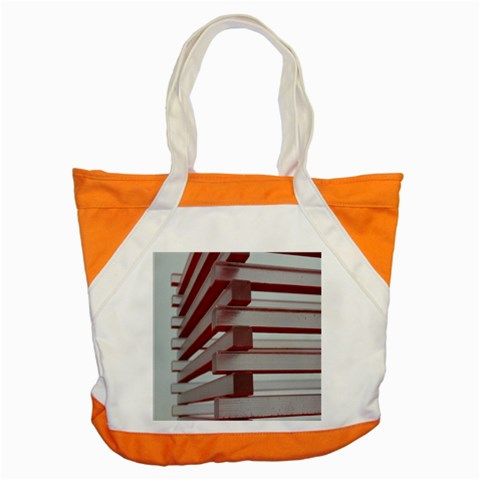 Red Sunglasses Art Abstract  Accent Tote Bag