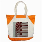 Red Sunglasses Art Abstract  Accent Tote Bag Front