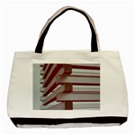 Red Sunglasses Art Abstract  Basic Tote Bag (Two Sides) Back