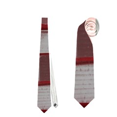 Red Sunglasses Art Abstract  Neckties (Two Side)