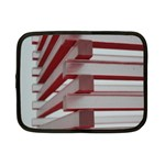Red Sunglasses Art Abstract  Netbook Case (Small)  Front