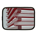 Red Sunglasses Art Abstract  Netbook Case (Medium)  Front