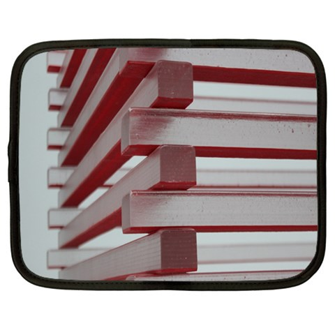 Red Sunglasses Art Abstract  Netbook Case (Large)