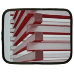 Red Sunglasses Art Abstract  Netbook Case (Large) Front