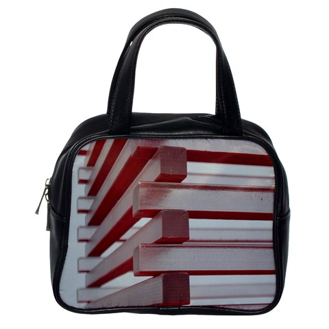 Red Sunglasses Art Abstract  Classic Handbags (One Side)