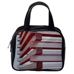 Red Sunglasses Art Abstract  Classic Handbags (One Side) Front