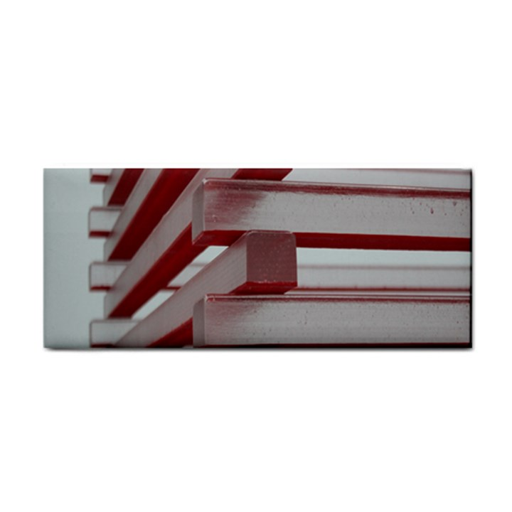 Red Sunglasses Art Abstract  Hand Towel