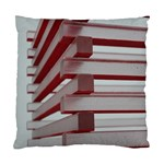 Red Sunglasses Art Abstract  Standard Cushion Case (Two Sides) Front