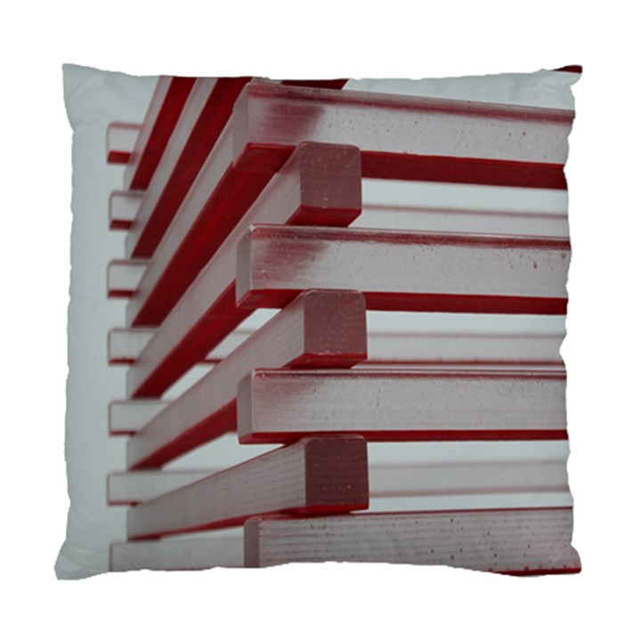 Red Sunglasses Art Abstract  Standard Cushion Case (Two Sides)