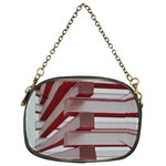Red Sunglasses Art Abstract  Chain Purses (Two Sides)  Back