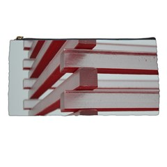 Red Sunglasses Art Abstract  Pencil Cases