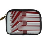 Red Sunglasses Art Abstract  Digital Camera Cases Front