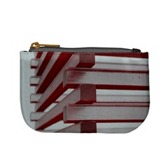Red Sunglasses Art Abstract  Mini Coin Purses