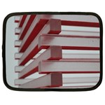 Red Sunglasses Art Abstract  Netbook Case (XXL)  Front