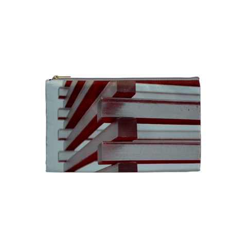 Red Sunglasses Art Abstract  Cosmetic Bag (Small)