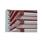 Red Sunglasses Art Abstract  Cosmetic Bag (Large)  Front