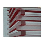 Red Sunglasses Art Abstract  Cosmetic Bag (XL) Back