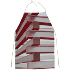 Red Sunglasses Art Abstract  Full Print Aprons