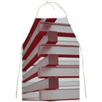 Red Sunglasses Art Abstract  Full Print Aprons Front