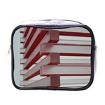 Red Sunglasses Art Abstract  Mini Toiletries Bags Front