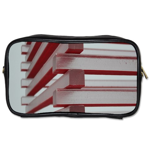 Red Sunglasses Art Abstract  Toiletries Bags