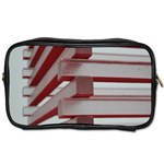 Red Sunglasses Art Abstract  Toiletries Bags 2-Side Front