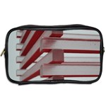 Red Sunglasses Art Abstract  Toiletries Bags 2-Side Back
