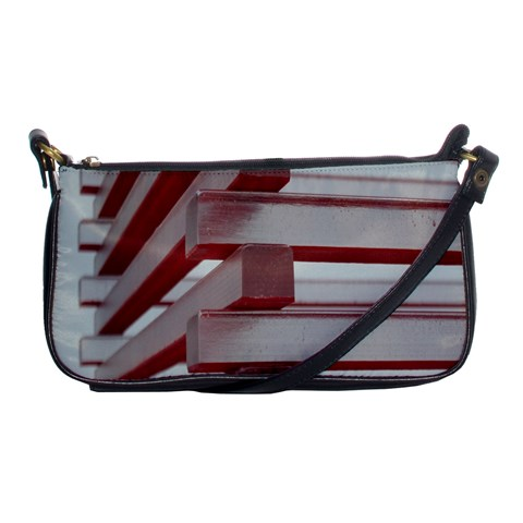 Red Sunglasses Art Abstract  Shoulder Clutch Bags
