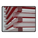 Red Sunglasses Art Abstract  Fleece Blanket (Small) 50 x40 Blanket Front