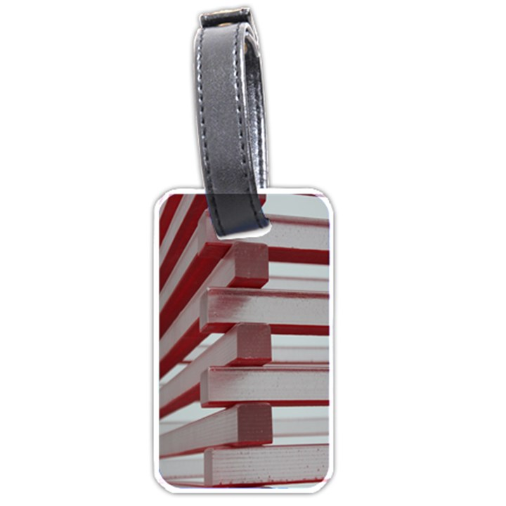Red Sunglasses Art Abstract  Luggage Tags (One Side)